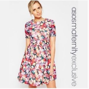 ASOS | Vibrant Floral Maternity Dress 6